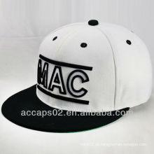 Mode flache Krempe Snapback Cap