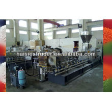 SHJ-65 Co-rotating Twin-screw Extrusion machinery for pelletizing