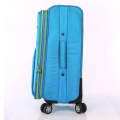 High quality waterproof fabric soft trolley luggage