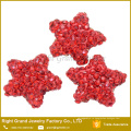 Мульти Смешанный Размер ААА CZ камень цвет звезды ювелирных изделий shamballa бусины