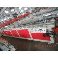 CONCEPTION SPÉCIALE VIS, BARERL, PP PE PVC PALSTIC MACHINE EXTRUSION PROFIL