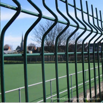 4.5mm ~ 5.0mm Высокое качество 3D изогнутой проволочной сетки забор