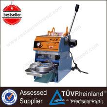 Guangzhou Supplier ShineLong Manuelle automatische Tasse Siegelmaschine