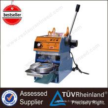 Guangzhou Fournisseur ShineLong Manuel Automatique Tasse machine de cachetage