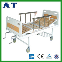 Two function Sickbed with wood surface