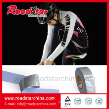 High silver elastic reflective fabric for sports clothes