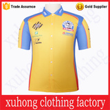 New Design All Over Embroidery Short Sleeve Polo Shirt