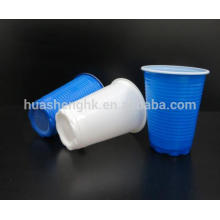 Los fabricantes chinos aduana imprimieron la taza plástica disponible de alta calidad 6oz / 170ml PP del logotipo