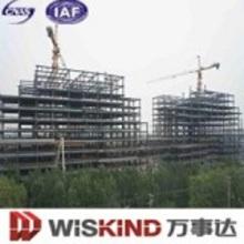 Material de panel de pared y techo de construcción de estructura de acero de gran cantidad
