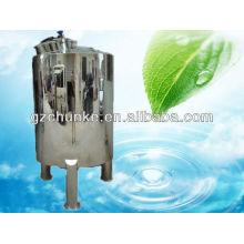 Tanque de almacenamiento de agua purificada de acero inoxidable para tratamiento de agua