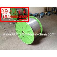 Fio de aço / arame de aço galvanizado / fio de temperamento de óleo / fio de esferoidização