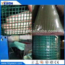 Anping калибр 20 ПВХ покрытие сварные железной проволоки сетки рулонах производитель