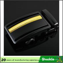 Boucle de ceinture en métal léopard d'or de haute qualité au prix inférieur, boucle automatique