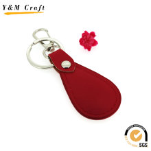 Free Sample Customized Logo Wholesale Blank Leather Keychain