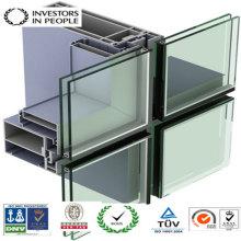 Aluminium / Aluminium Extrusion Profil der Tür