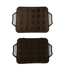 Alfombrillas Macaron de silicona de 20 agujeros
