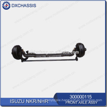 Genuine NHR NKR Front Axle Assy 300000115