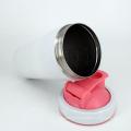 Garrafa da aptidão do abanador da proteína do misturador da garrafa do abanador do metal para o Gym