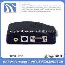 AV to VGA video converter