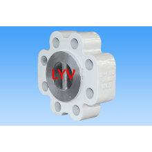 Válvula de retención tipo Lug de acero al carbono