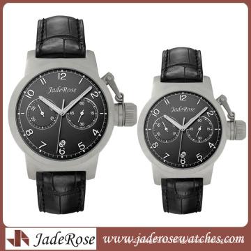 2015 3 Hands Japan Quartz Stainless Steel Watch Water Resistant
