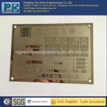 Profissional plástico personalizado porta sinal