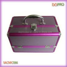 Purple Color PRO Makeup Designer Train Case (SACMC066)