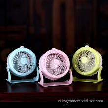 Mini-ventilator met Clip Light Water Spray