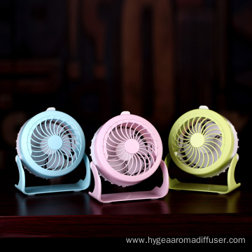 Mini Fan With Clip Light Water Spray
