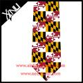 Glow in the Dark Ties American Flag Custom Printed Silk Men Necktie