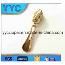 Vergoldung Nylon Zipper Slider 5 #