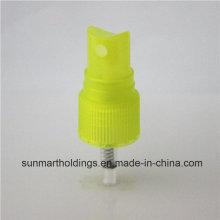 18410 jaune transparente Fine brume parfum Spray pompe