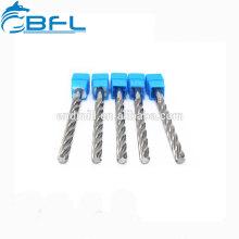 Outil de coupe pour alésoir en carbure de tungstène BFL / Outil pour alésoir en carbure de flûte droite / spirale