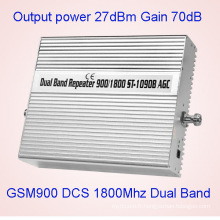 Dual Bandgsm900MHz & Dcs1800MHz Téléphone portable Amplificateur de signal de téléphone portable