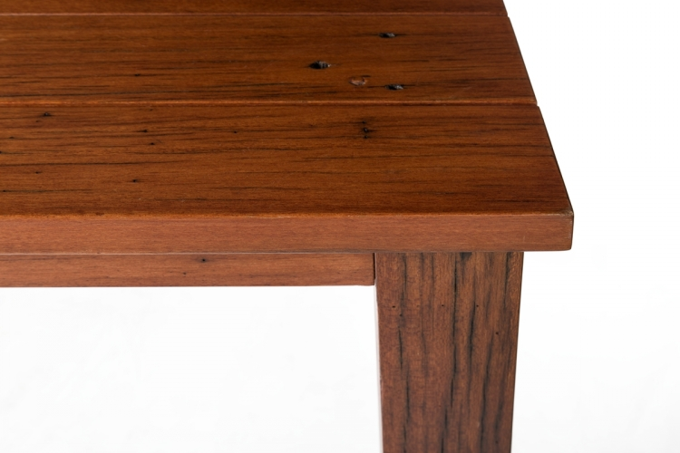 Square Wooden Dinner Table