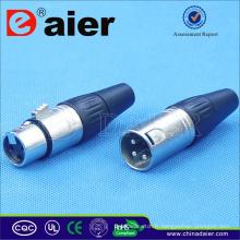 Daier XLR Audio pour système audio avec cordon XLR équilibré