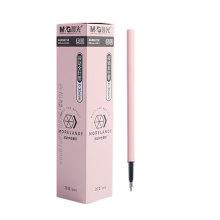 Stationery smooth gel pen black 0.35mm push retractable writing gel pen refill