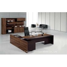 Mesa de Gerente Executivo de Escritório de Escritório de Madeira Moderna Elegante (HF-TWB105)