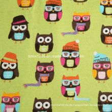 100% Baumwolle Flanell Stoff für Pyjamas mit Karikatur gedruckt (20X10 / 40X42)