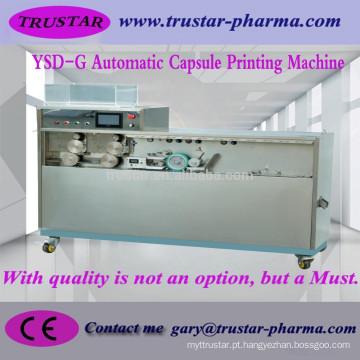 Máquina de embalagem farmacêutica automática de impressão de cápsula, impressora de cápsula, máquina de impressão de cápsula, printi