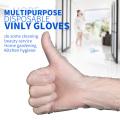 Disposable pvc vinyl gloves non powder free