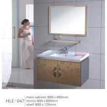 Gabinete de banheiro de aço inoxidável com vaidade espelhada com preço competitivo