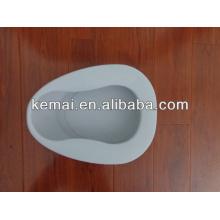 Plastic bedpan