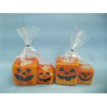 Хэллоуин свеча формы керамических ремесел (LOE2370-9z)