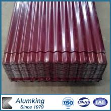 Feuille en aluminium ondulé pour toitures Vente chaude en Afrique du Sud