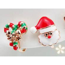 Weihnachtsschmuck / Weihnachtsohrring / Weihnachtsvater (XER13371)