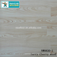 NWseries Larry Madeira de cerejeira Parquet piso de madeira HDF núcleo Parquet Flooring