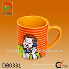 Factory direct wholesale 275ml Ceramic customized coffee mugs