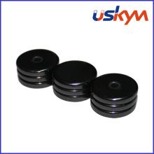 C1 Aimants poli en disques en céramique (D-002)