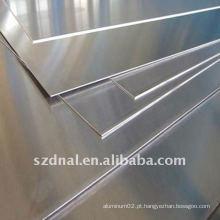 Placa / folha de liga de alumínio 5083